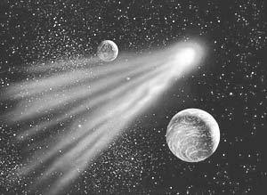 В эти выходные мимо Земли пролетят осколки развалившейся накануне кометы 73Р