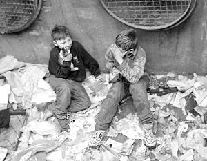 В столице более 33 тысяч детей живут на улицах безо всяких средств и желания к существованию