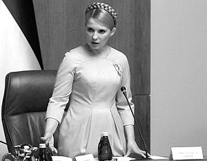 Партия регионов призывает Тимошенко уйти добровольно