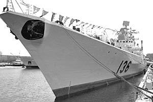 В рамках контракта с Россией Китай планирует получить еще один эсминец проекта 956ЭМ