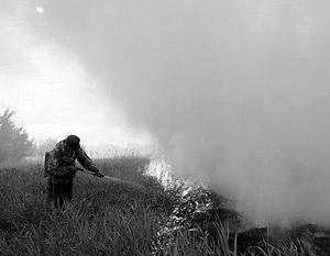 Задача властей не только в том, чтобы потушить пожар, но и чтобы помочь погорельцам