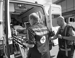 Семь человек доставлены в больницы города