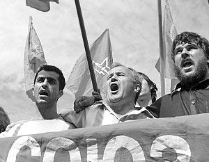 Антиглобалисты признались, что в Петербурге их подавляли мягче, чем они того ожидали