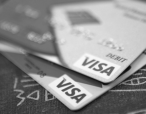 Обрушили Visa