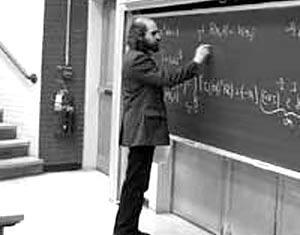 Российский математик Григорий Перельман