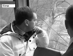 Медведев рассказал в Твиттере о подготовке к Олимпиаде в Сочи