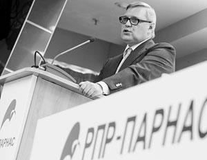 По мнению оппонентов, москвичи из ПАРНАСа Михаила Касьянова пытались решать проблемы в провинции «только деньгами»