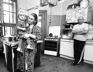 В 90-х годах расселение коммунальных квартир выделилось в отдельное риэлторское направление, что приносило огромную.