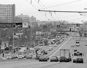 Схема движения меняется на трех участках Варшавского шоссе в Москве #1.
