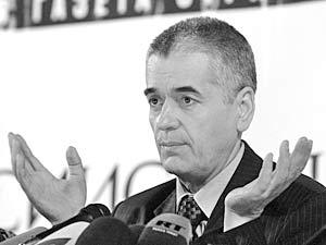Главный санитарный врач России Геннадий Онищенко