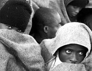 В беженцах из Африки жители Латвии увидели угрозу чистоте расы