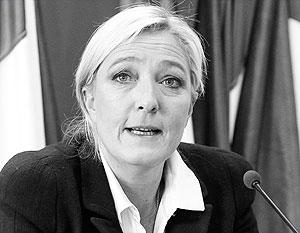 Глава Нацфронта Франции пообещала в случае победы на выборах выход из НАТО