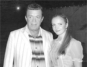 Иосиф Кобзон и Юлия Михальчик