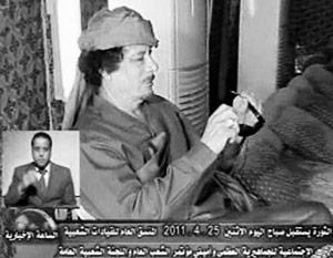 Муамар Каддафи готов прекратить боевые действия, но ждет того же от НАТО