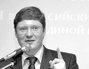 Член президиума Генсовета «Единой России» Андрей Исаев