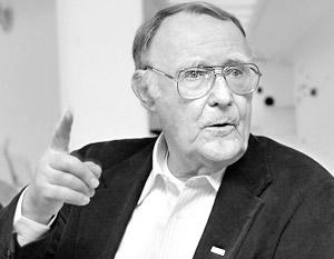 Владелец магазинов IKEA 80-летний швед Ингвар Кампрад
