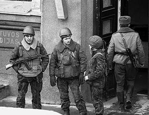 Вильнюс не забывает события 1991 года