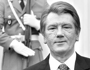 Виктор Ющенко тайно вооружает Грузию
