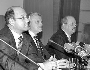 Лидеры Российской партии жизни, Партии пенсионеров и «Родины»