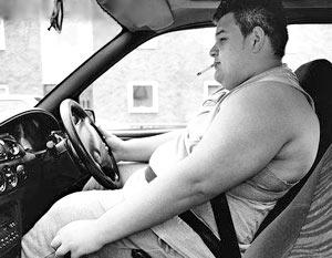На перевозку толстых водителей и пассажиров в масштабах США ежегодно дополнительно расходуется 2,2 млрд. долларов