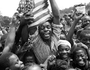 Социологи зафиксировали в прошлом году особый прилив любви к политике США среди жителей Либерии
