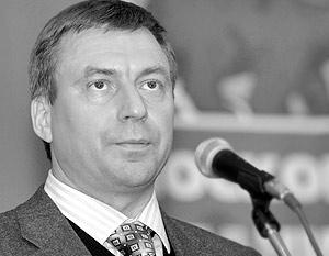 Лидер фракции большинства в Мосгордуме, первый зампред московского отделения «Единой России» Андрей Метельский
