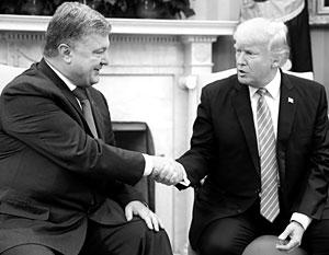 Порошенко пришлось дать на лапу адвокату Трампа, чтобы пожать руку президенту США