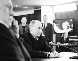 Путин: «Не надо рая, дайте Родину мою!»