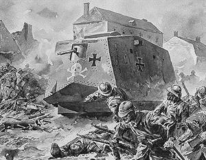 Историческая параллель между современным «Леопардом» и А7V времен Первой мировой – далеко не случайная
