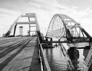Керченский мост еще с момента проектирования стал охраняемым объектом со всех сторон, даже из космоса