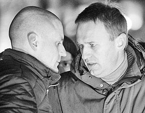 Навальный и Удальцов могут оказаться на скамье подсудимых