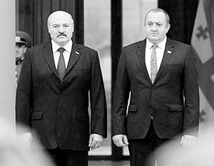 Лукашенко ищет в Грузии пути выхода на Европейский союз