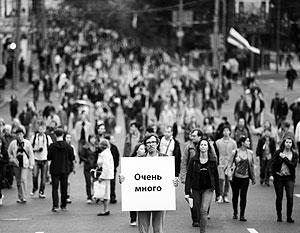 """Политика: Оппозиция проведет """"марш"""", но уже без """"миллионов"""""""