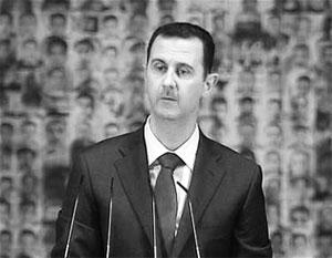 Асад предложил план выхода из кризиса в Сирии