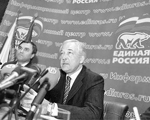 Лидер партии Борис Грызлов