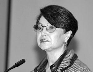 председатель комиссии ОП по вопросам соцразвития Александра Очирова