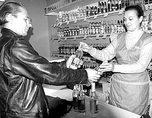 Лицензионный сбор за торговлю алкоголем будет понижен в два раза