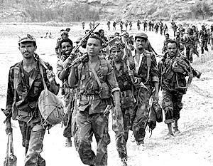 Эфиопские войска в выходные начали активные боевые действия на территории Сомали