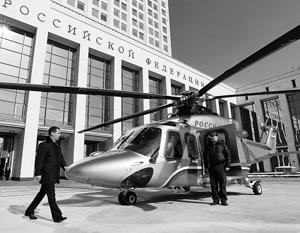 Схему движения кортежа с главой правительства по воздуху разработала Федеральная служба охраны(ФСО).