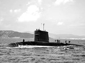 S603 Casabianca, третья лодка серии Rubis