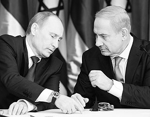 Нетаньяху волнуют вопросы поставок российского оружия в Сирию
