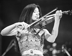 Ванесса Мэй оставила скрипку ради участия в Играх в Сочи