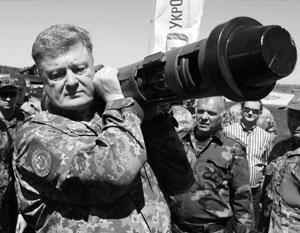 О создании Украиной новых вооружений Петр Порошенко предпочитает рассказывать лично со своей страницы в Facebook