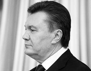 Партия регионов обвинила Януковича в кризисе на Украине