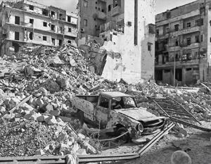 Согласно документу МИДа, мятежники заминировали точки выхода из Алеппо, а также отказывались пускать гуманитарные колонны ООН в город
