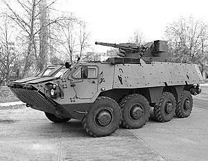 На Украине изготовлен новый вариант БТР-4