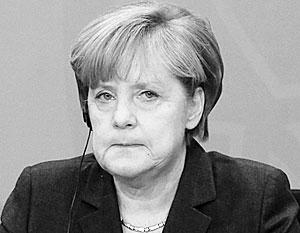Меркель действует под давлением сша