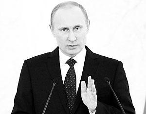 Путин во вторник выступит с посланием Федеральному собранию