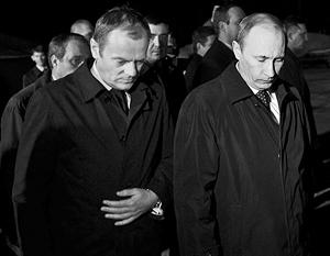 Свидетелями разговора лидеров Польши и России, который министр Мачеревич назвал «тайным», на самом деле были десятки журналистов