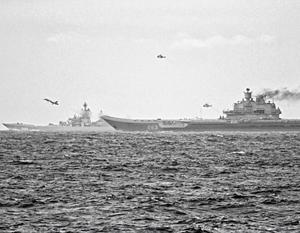 Политика: Прохождение российской эскадры переполошило Британию